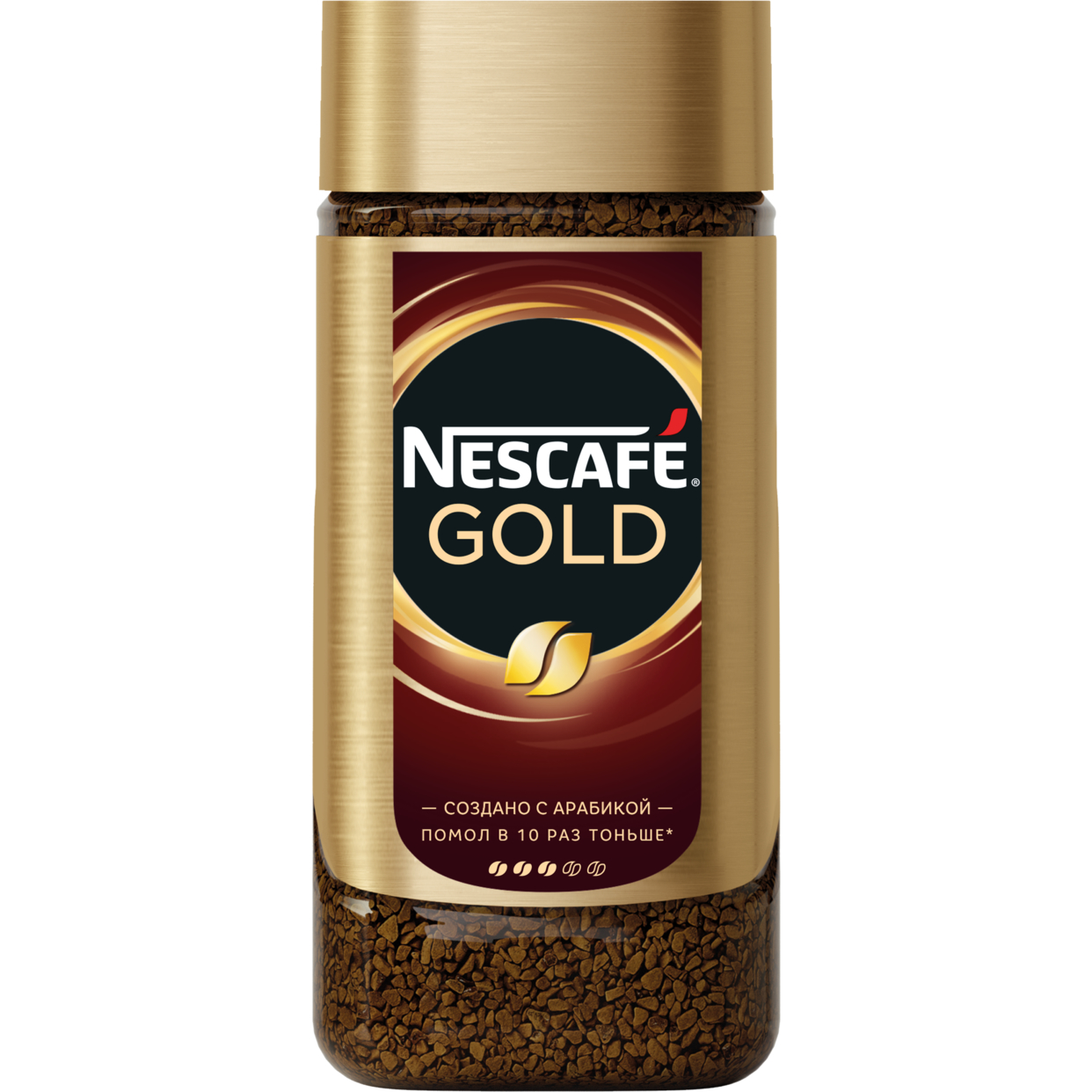 100 % натур. кофе. nescafe gold. натур. раствор. субл. кофе с доб. нат. жар. мол. кофе ст/б 190г