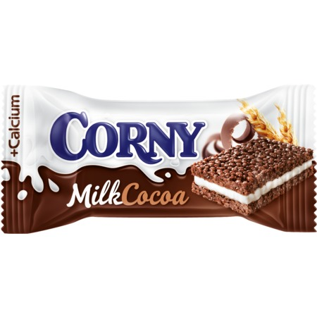 Батончик Corny Big Cocoa, молочный, 30 г