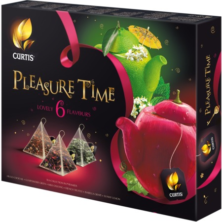 Чай ассорти Pleasure Time 53 г