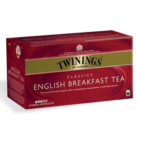 "Чай черный ""Twinings"" English Breakfast Tea 25 пак"