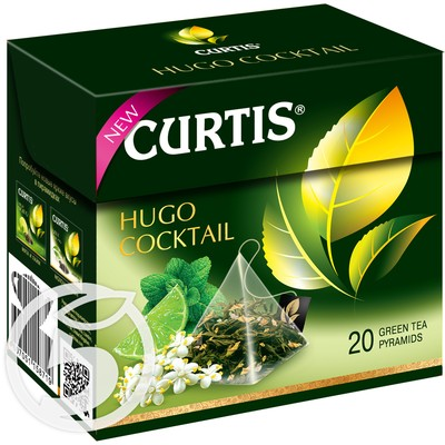 "Чай ""Curtis"" Hugo Cocktail зеленый 20пак*1,8г"