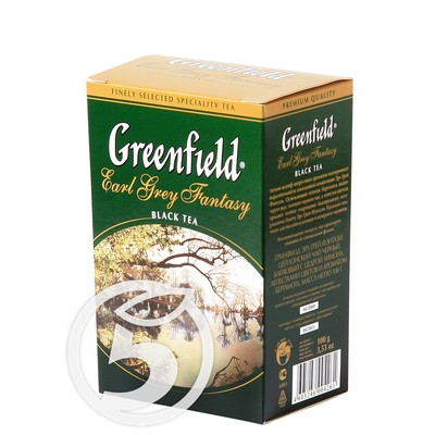 "Чай ""Greenfield"" Earl Grey Fantasy черный 100г"