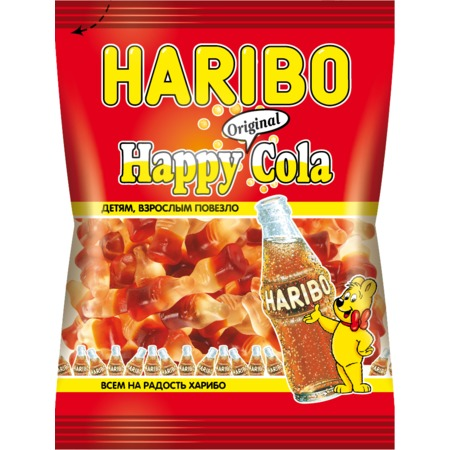 HARIBO Мармелад HAPPY COLA жев.70г