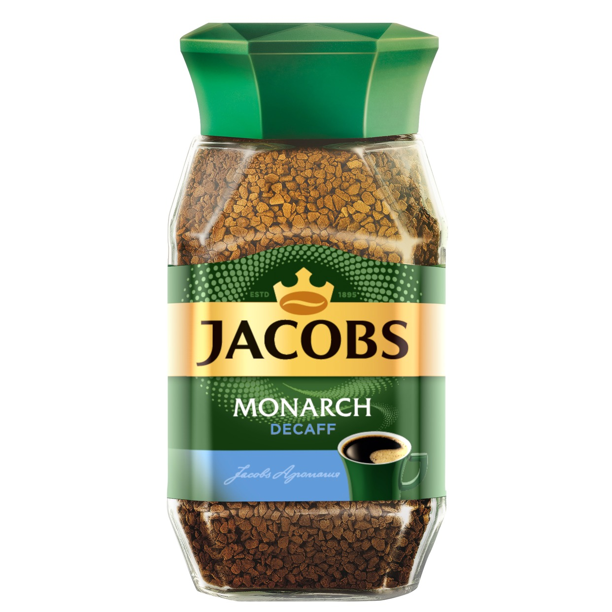 Кофе Jacobs Monarch Decaffe, растворимый, 95 г