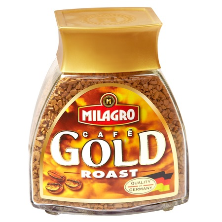 Кофе Milagro Gold Roast, растворимый, 100 г