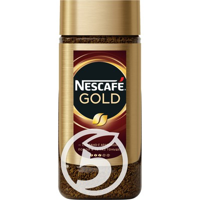 "Кофе ""Nescafe"" Gold растворимый сублимированный с добавлением натурального молотого 95г"