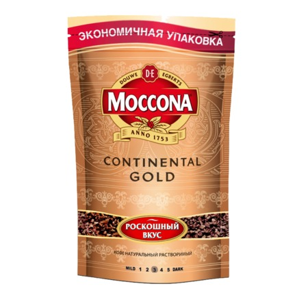 MOCCONA Кофе CONT.GOLD раст.нат.субл.75г