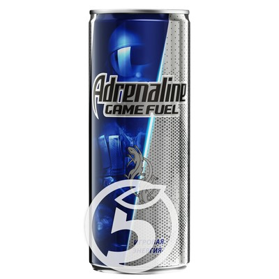 "Напиток ""Adrenalin""e Game Fuel энергетический 500мл"