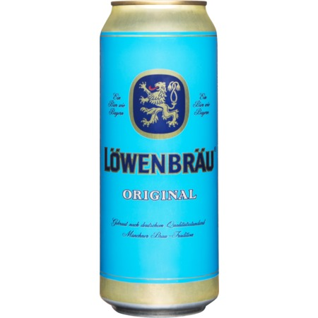 Пиво Lowenbrau Original, светлое, 5,4%, 0,45 л