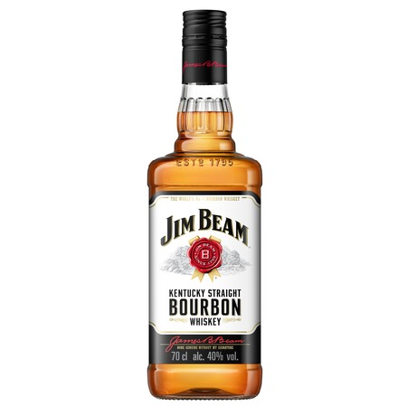 Виски JIM BEAM BOURBON 40% 0.7л